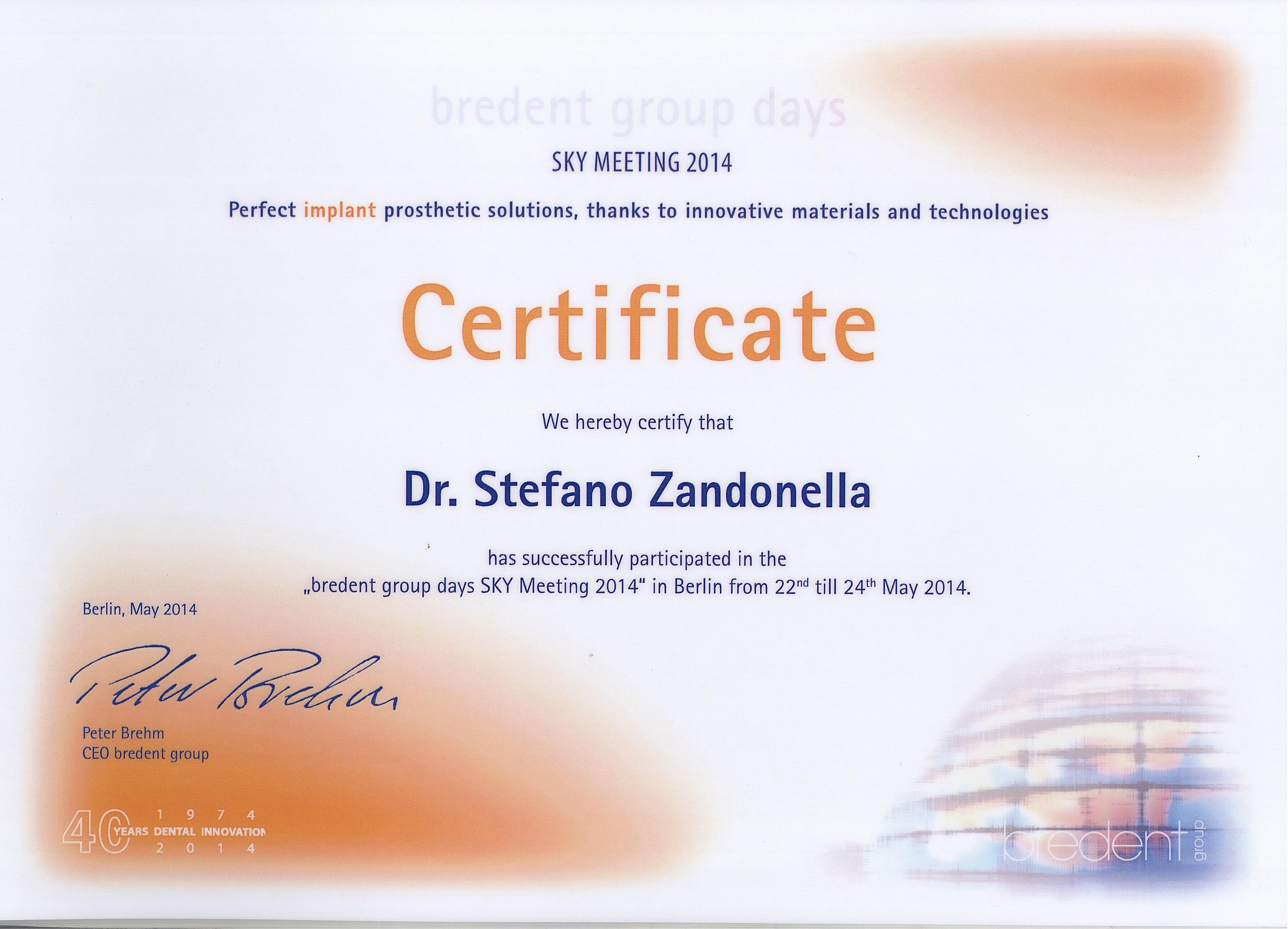 BREDENT DR. ZANDONELLA